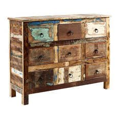 Driftwood Reclaimed Wood Chest of Drawers