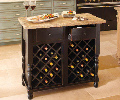 Simple Contemporary Kitchen Islands And Kitchen Carts by Napa Style