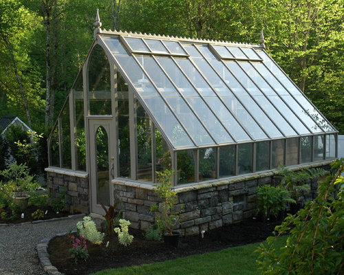 Tudor style greenhouse kits for 12x18 shed window