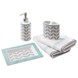 Contemporary Bathroom Accessory Sets by Olliix