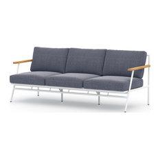 Affini Outdoor Sofa, Navy Blue