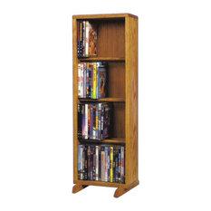 Custom Dvd Cabinet With Doors Exterior
