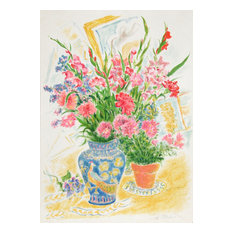 Ira Moskowitz, Flowers 6, Lithograph