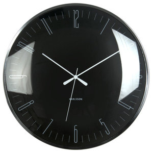 Karlsson Dragonfly Wall Clock, Black