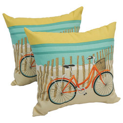 Beach Style Outdoor Cushions And Pillows by Blazing Needles