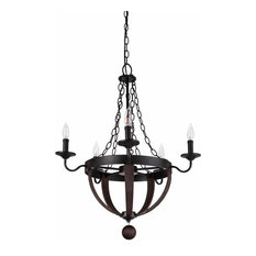 Park Harbor PHHL6275 Sandrift 5 Light Chandelier
