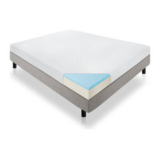 "Lucid - Lucid 6"" Memory Foam Mattress, Firm Feel, Twin - Mattresses"
