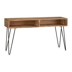 Simpli Home Ltd Hunter Console Sofa Table Natural Tables