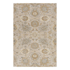 Surya - Surya Castello CLL1012 Gray/Neutral Classic Area Rug, 8'x10' Rectangle - Area Rugs
