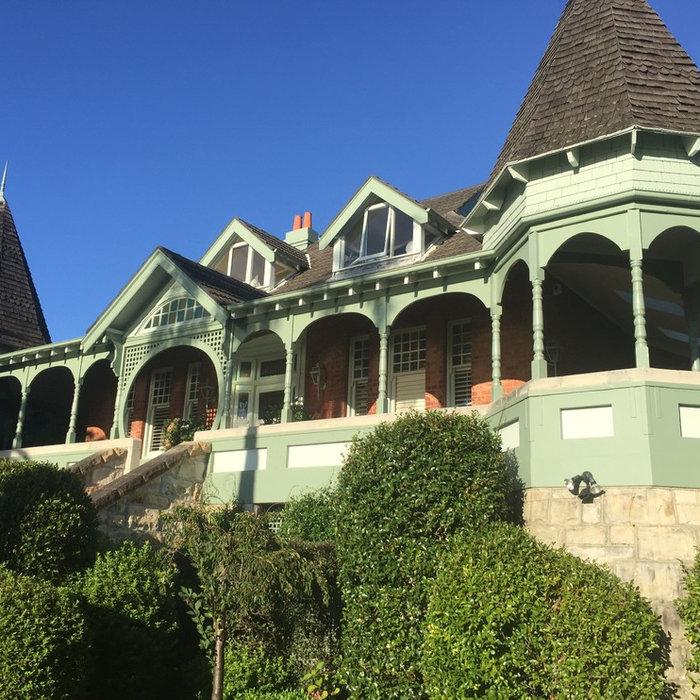 Grand Federation Mosman home - exterior/interior painting