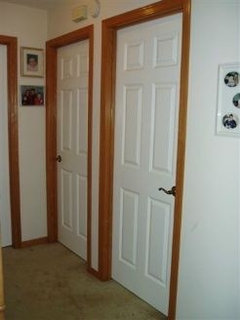 White Doors Natural Oak Trim Can I Do It