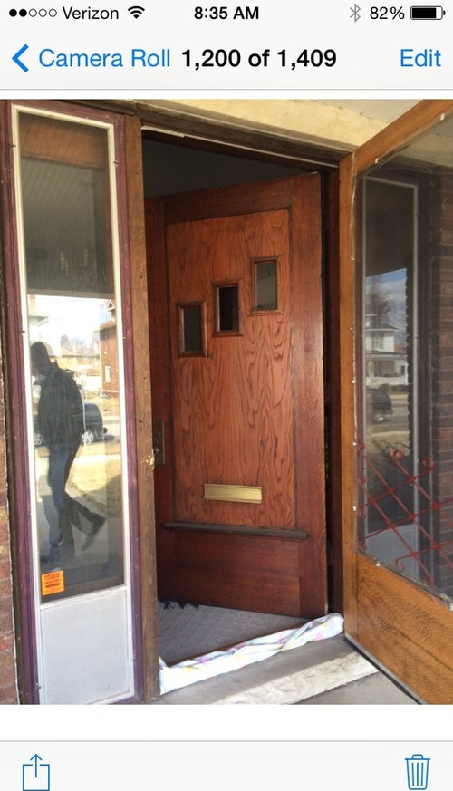 Front Door and Porch help for this American Foursquare