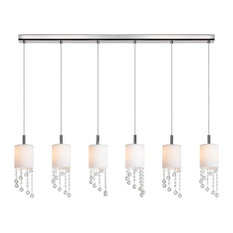 Tango 6-Light Linear Pendant Light