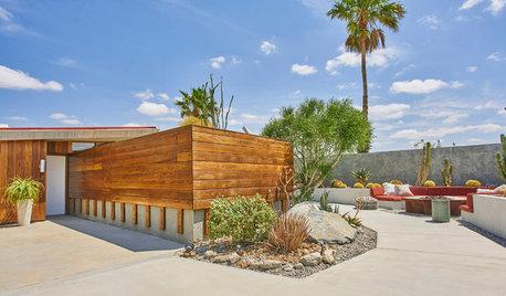 砂漠の中に建てられたジョン・ロートナーの有機的建築