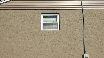 Shutter and window planter installation