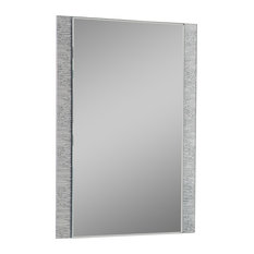 decor wonderland frameless molten wall mirror bathroom mirrors