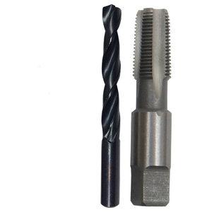 m4.5 X .75 HSS Plug Tap and 3.75mm HSS Drill Bit Qualtech
