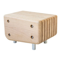 """The Woodlouse"" Oak Step Platform, 35 Cm"