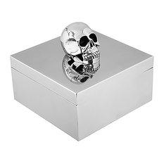 Chrome Skull Box