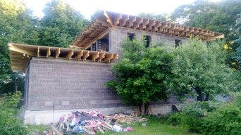 Дом в Подмосковье площадью 340 кв.м.