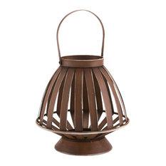Bamboo Lantern, Brown