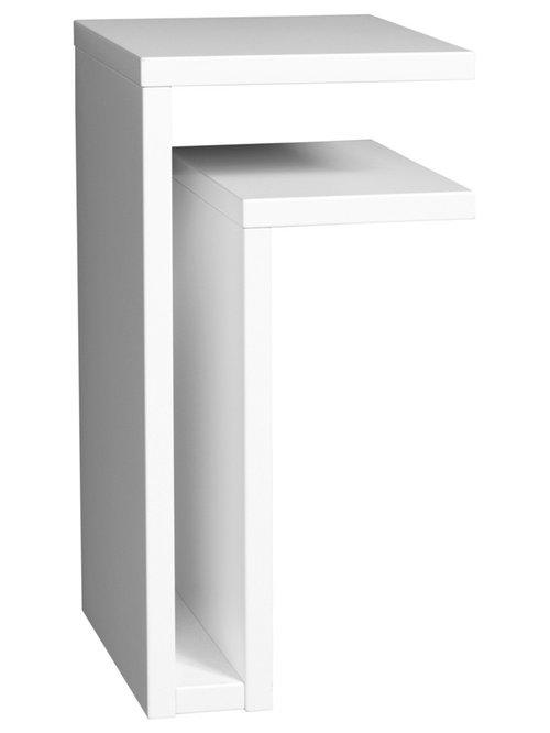 F-Shelf Hylla Högerställd, Vit - Display & væghylder
