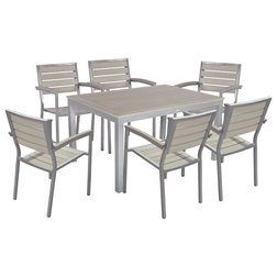 Contemporary Outdoor Dining Sets by Great Sense