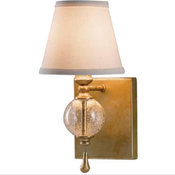 """Murray Feiss Argento Collection 11 3/4"""" High Wall Sconce"""