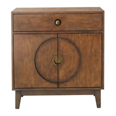 HomeFare - Mid-Century Modern Walnut Accent Chest - Accent Chests and Cabinets