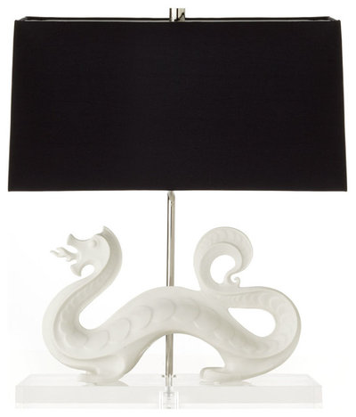 Asian Table Lamps by Horchow