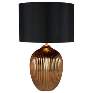 Tyler Table Lamp, Gold Finish