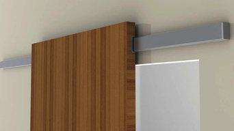 Diva Air - Sliding system for wood door