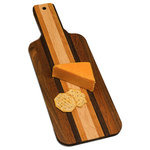 Oshkosh Designs - Solid Hardwood Cheese Server - HANDMADE IN THE USA