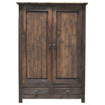 FoxDen Decor - Frederick Linen Closet/Armoire, Espresso, 30x22x80 - Looking for a new way to organize your clothes? The Frederick Linen Closet is the perfect choice! Featuring cubbies rather than drawers, this linen closet makes it easy to find exactly what you want to wear. The spacious design is crafted from solid reclaimed wood and comes in a variety of finishes. This handmade piece is built to withstand a lifetime of use.