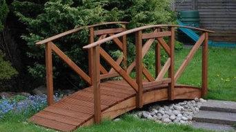Japanese Style Garden Bridge