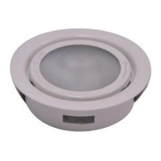 Mansion Court Gardens - (Metal) Xenon recess mount w/lamp. Frosted lens/Black