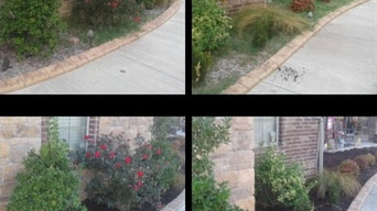 Flowerbed installs and cleanups