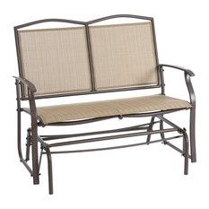 Bronze 2-Seater Garden Glider Bench