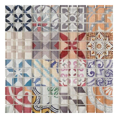 Fashion Color Full Mosaic Glass 1X1 From Spain