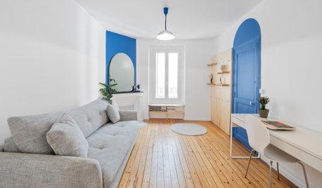 Avant/Après : Un studio de 24 m2 entre rétro et contemporain