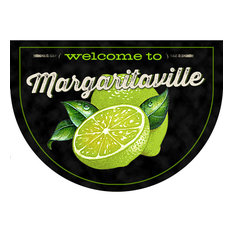 Decorative Kitchen Mat, Margaritaville