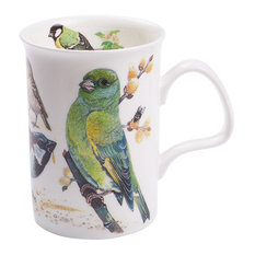 Roy Kirkham Garden Birds Lancaster Style Bone China Mug, Chaffinch