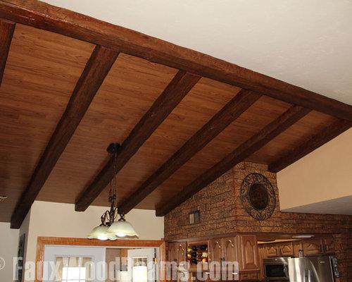 Faux timber beams