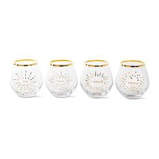 TAG Holiday Spirits Glass, Set of 4
