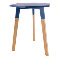 Sterling Sky Pad Accent Table, Navy