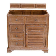 "Savannah 36"" Single Vanity Cabinet Driftwood - Base Cabinet Only"
