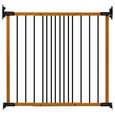 "Kidco Designer Angle Mount Wall Mounted Safeway Pet Gate, Oak, 28"", 42.5""X31"""