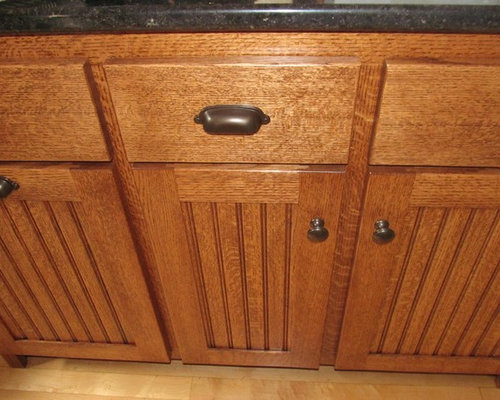 Quartersawn Oak Kitchen Cabinets