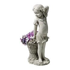 Frances the Flower Girl Statue