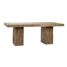 DOVETAIL WELBECK Dining Table Reclaimed Pine